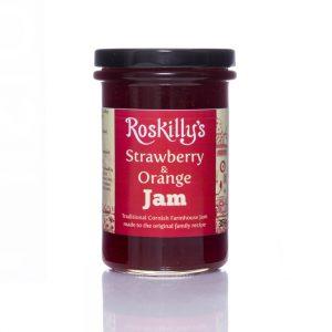 Roskilly's Strawberry & Orange Jam